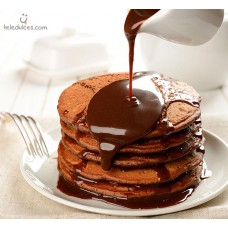 Tortitas de doble chocolate